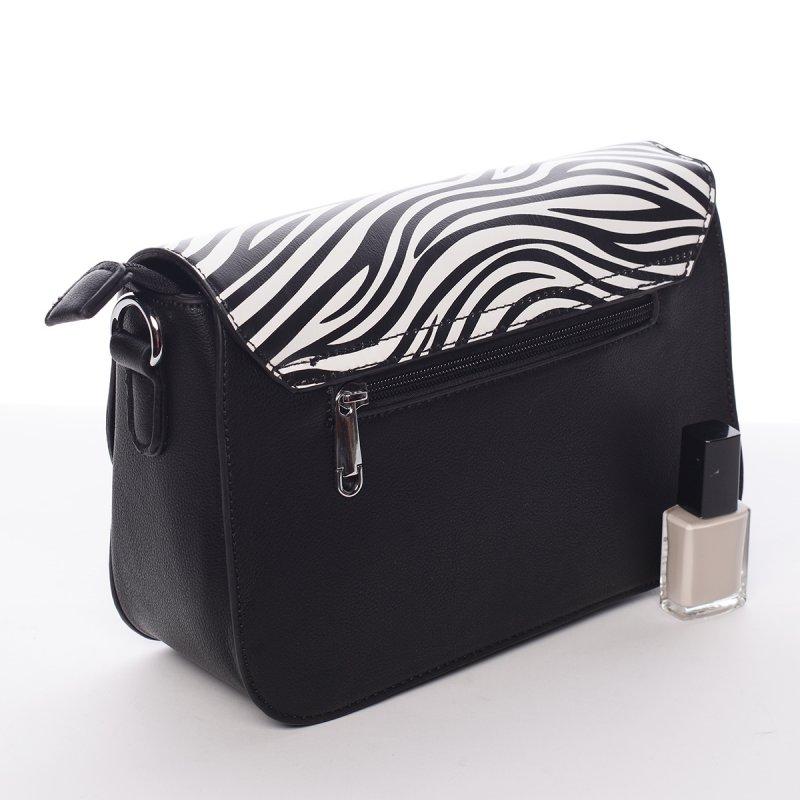 Luxusní crossbody kabelka Federica, černá
