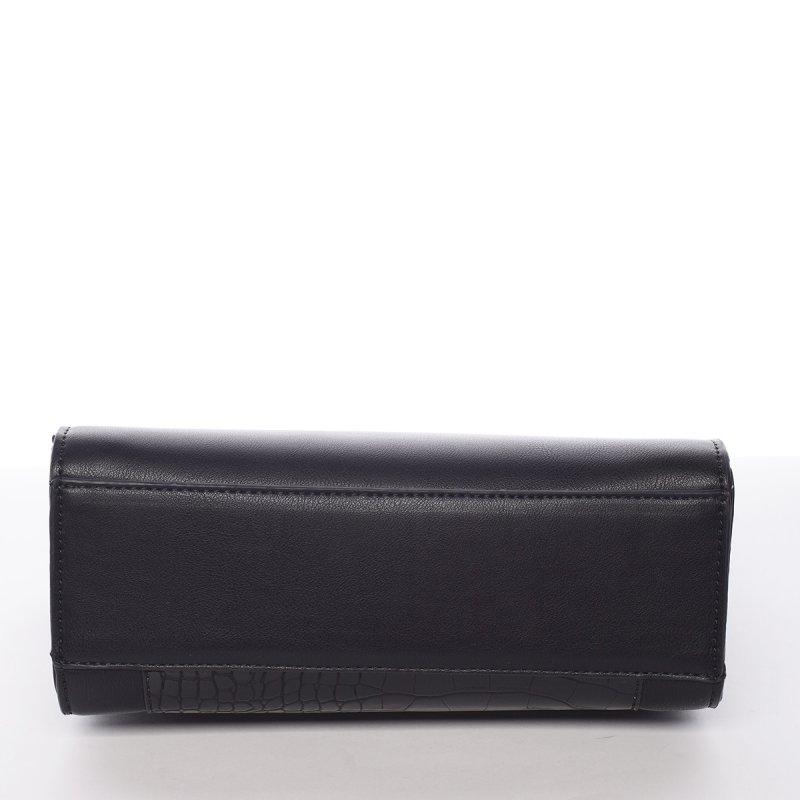Elegantní crossbody kabelka Paola, černá