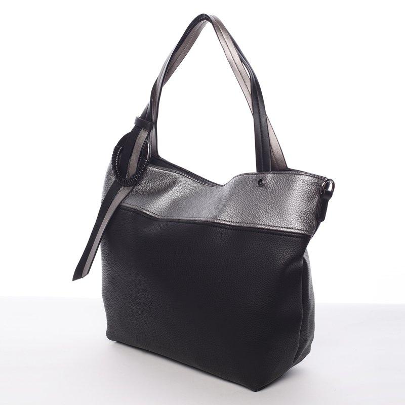 Nadčasová kabelka přes rameno Nicole, černá