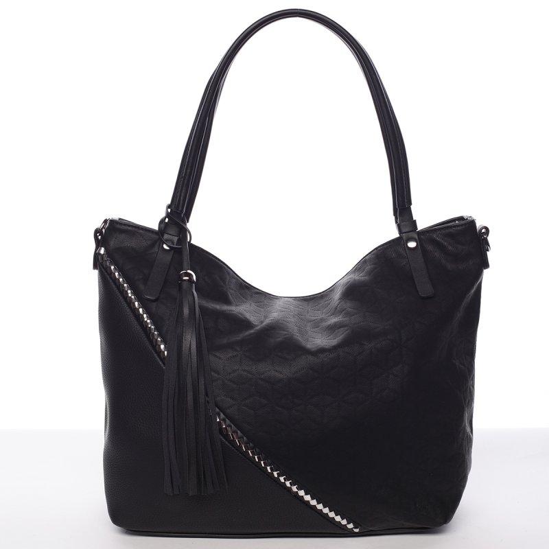 Originální kabelka přes rameno Camilla, černá