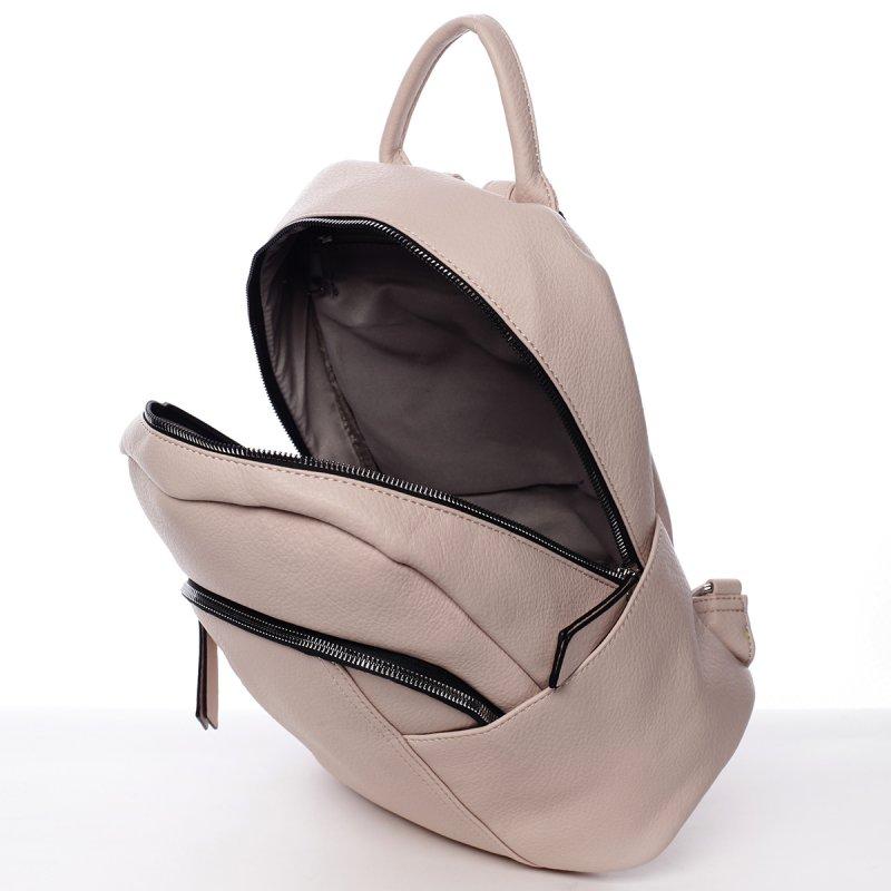 Moderní dámský batoh Fátima, růžový