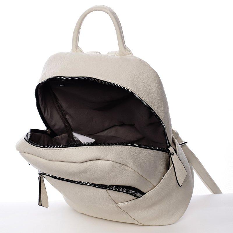 Moderní dámský batoh Fátima, béžový