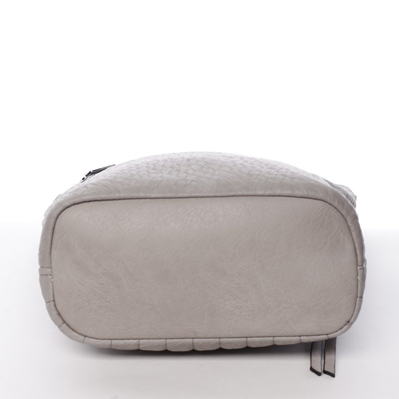Moderní crossbody kabelka Silvia Rosa Flor, šedá