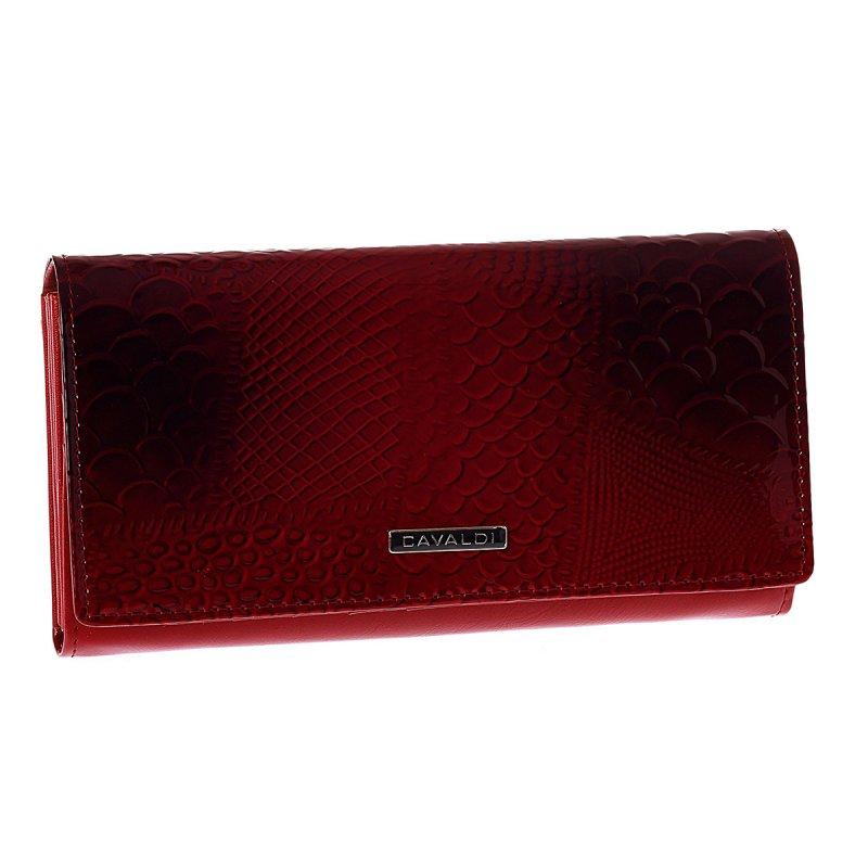 Dámská kožená peněženka Cavaldi Marisol, červená