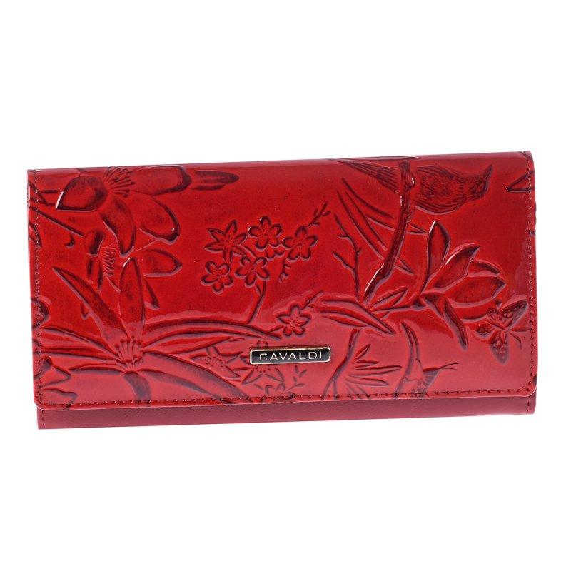 Kožená dámská peněženka Mariana, červená
