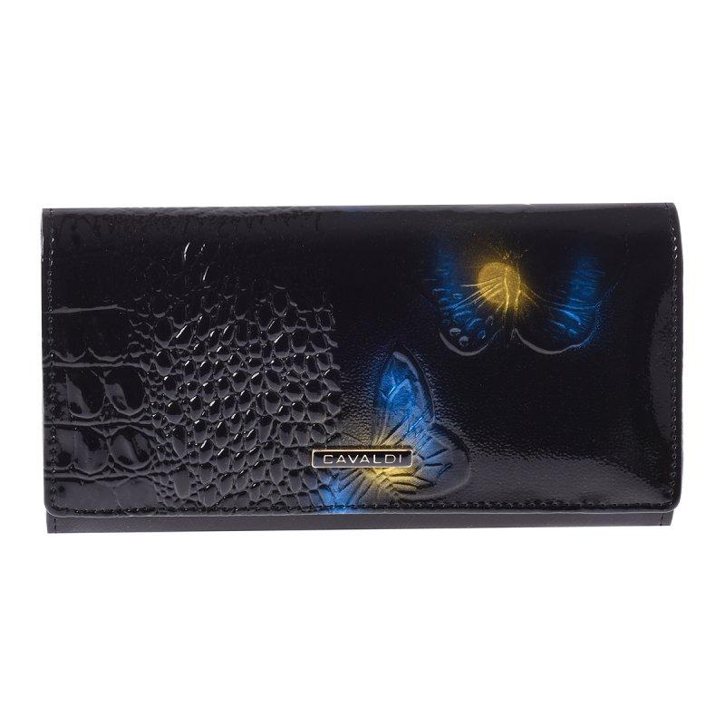 Stylová kožená peněženka Marilú, modrá