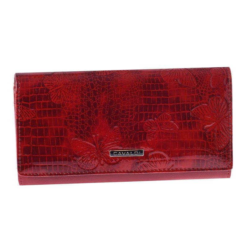 Dámská kožená peněženka červená Trinidad