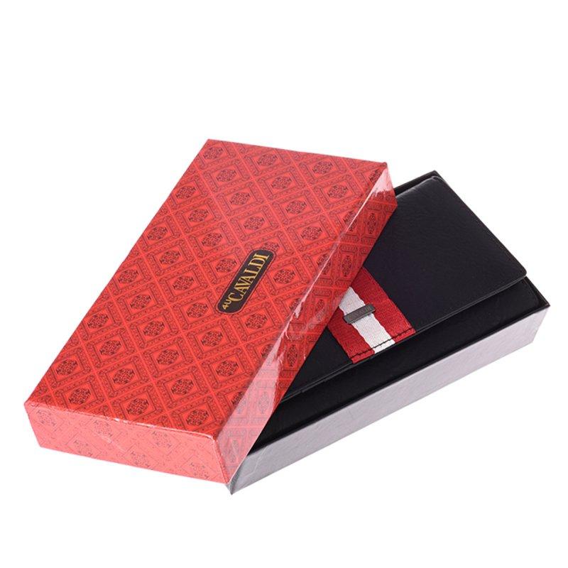 Moderní kožená dámská peněženka Rubí, černá