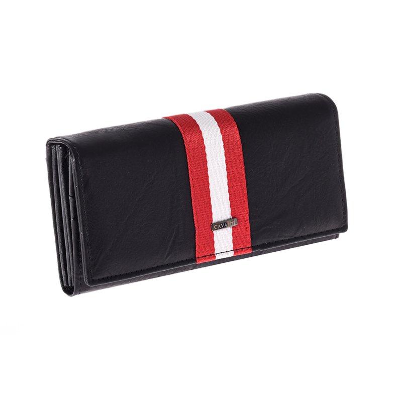 Kožená dámská originální peněženka María, černá