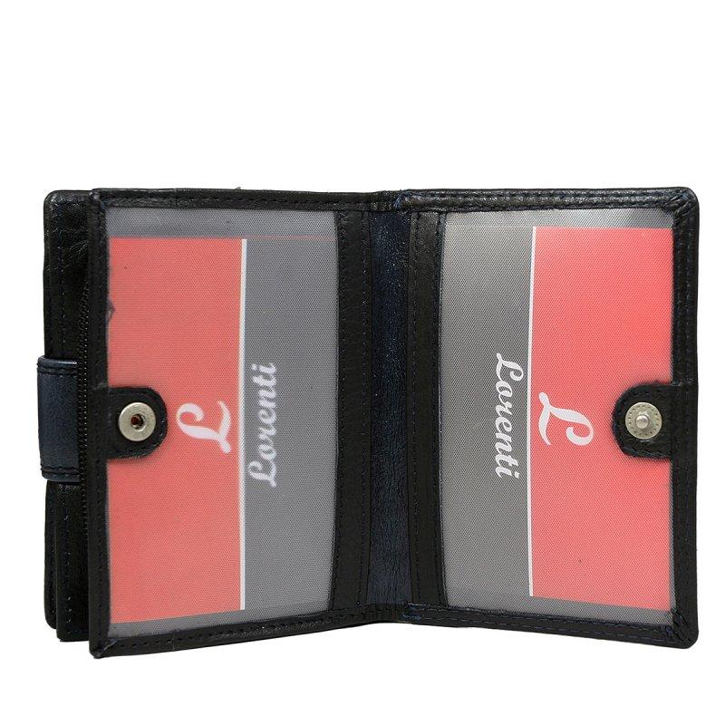 Dámská multifunkční kožená peněženka Olívia modrá