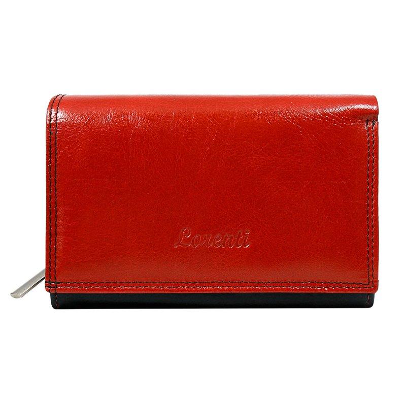Dámská kožená peněženka Zdeňka červená