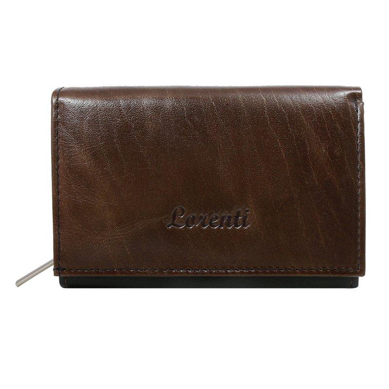 Dámská kožená peněženka Valéria hnědá