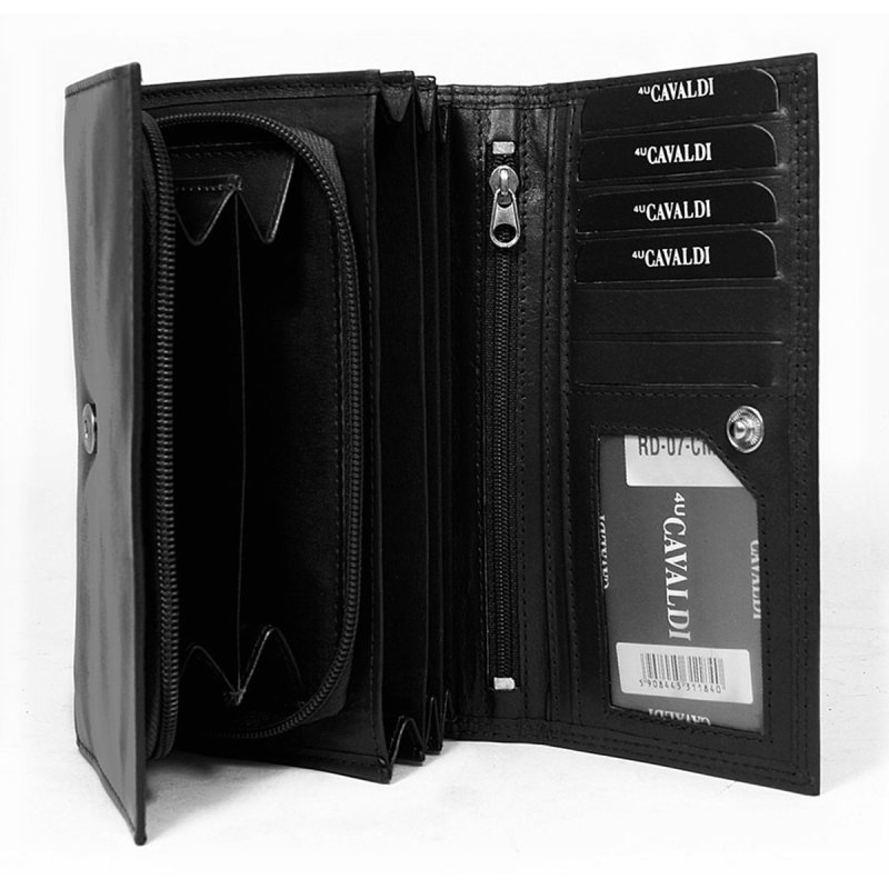 Dámská kožená peněženka Xénie černá