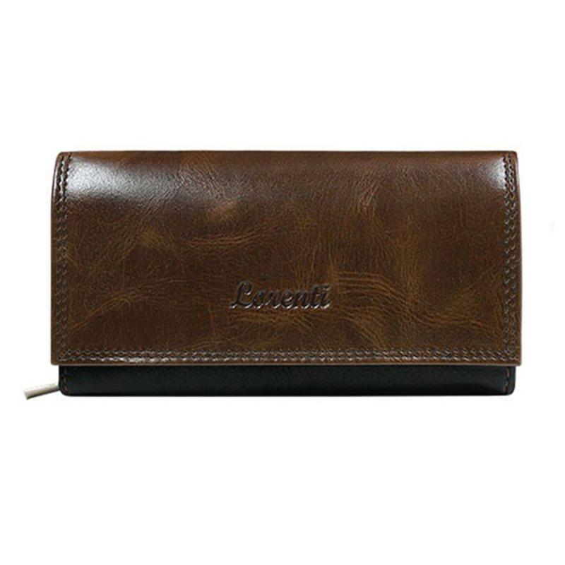 Dámská kožená peněženka Vanesa hnědá