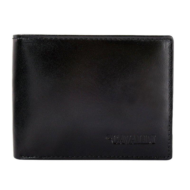 Pánská stylová kožená peněženka Olympia černá