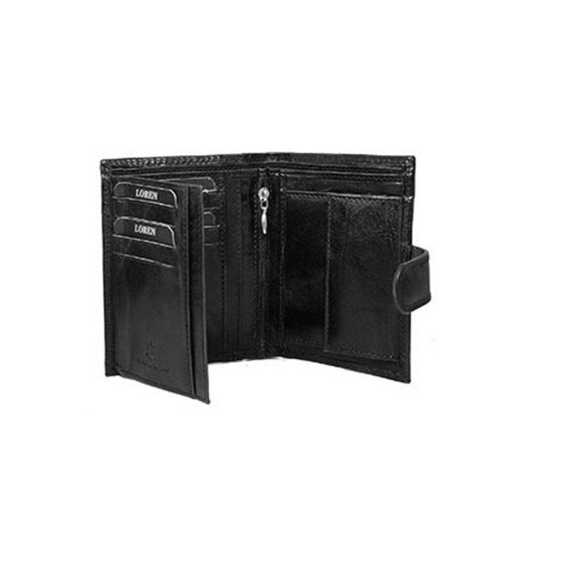 Pánská stylová kožená peněženka Ctibor černá