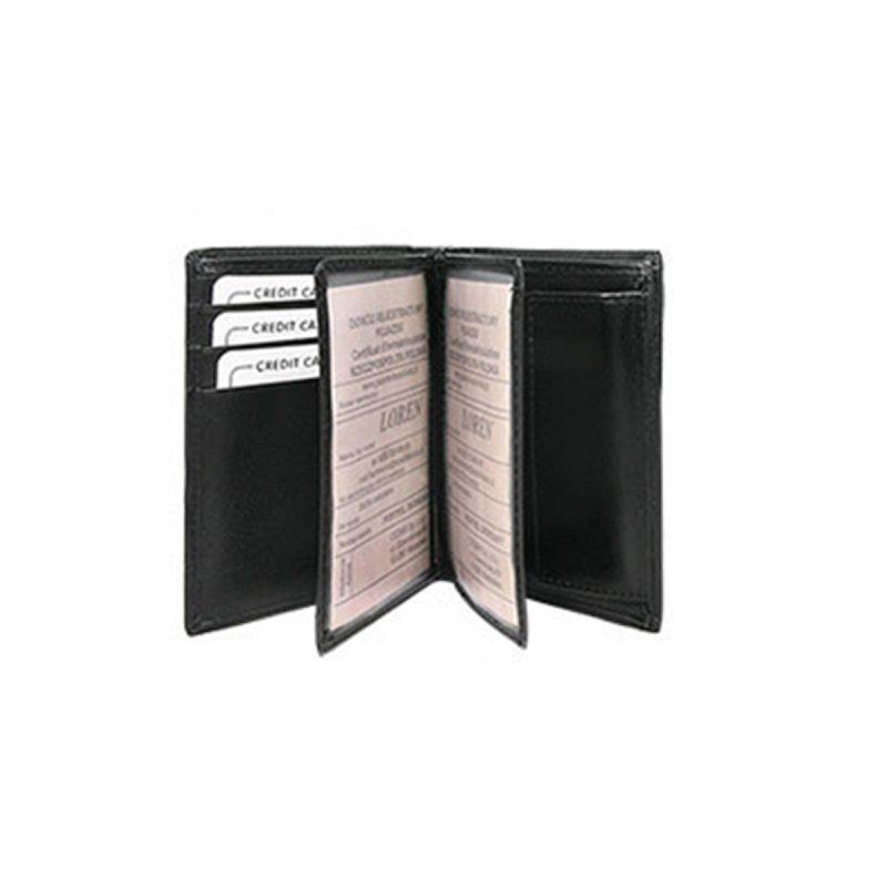 Pánská kožená prostorná peněženka Bystrík černá