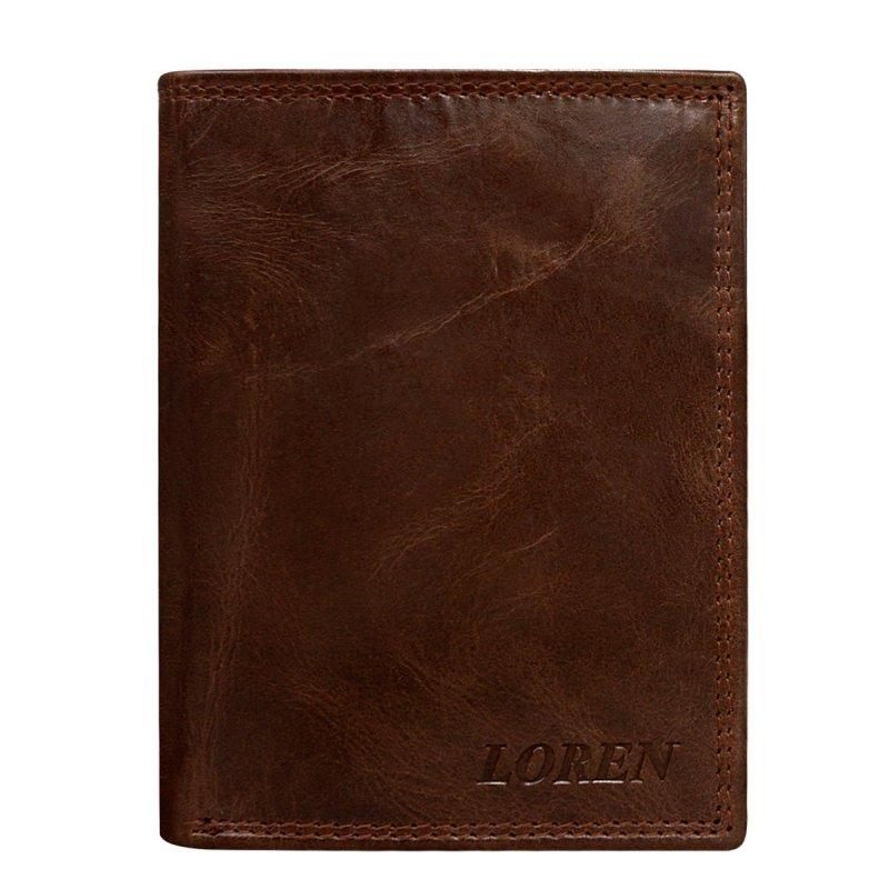Pánská kožená peněženka Luděk hnědá