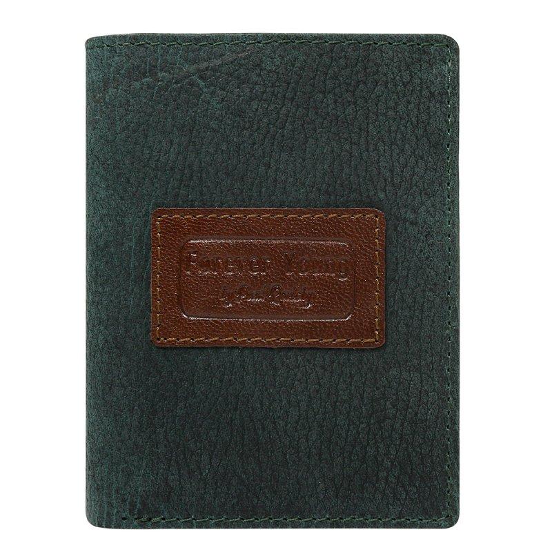 Módní pánská kožená peněženka Leonard  zelená