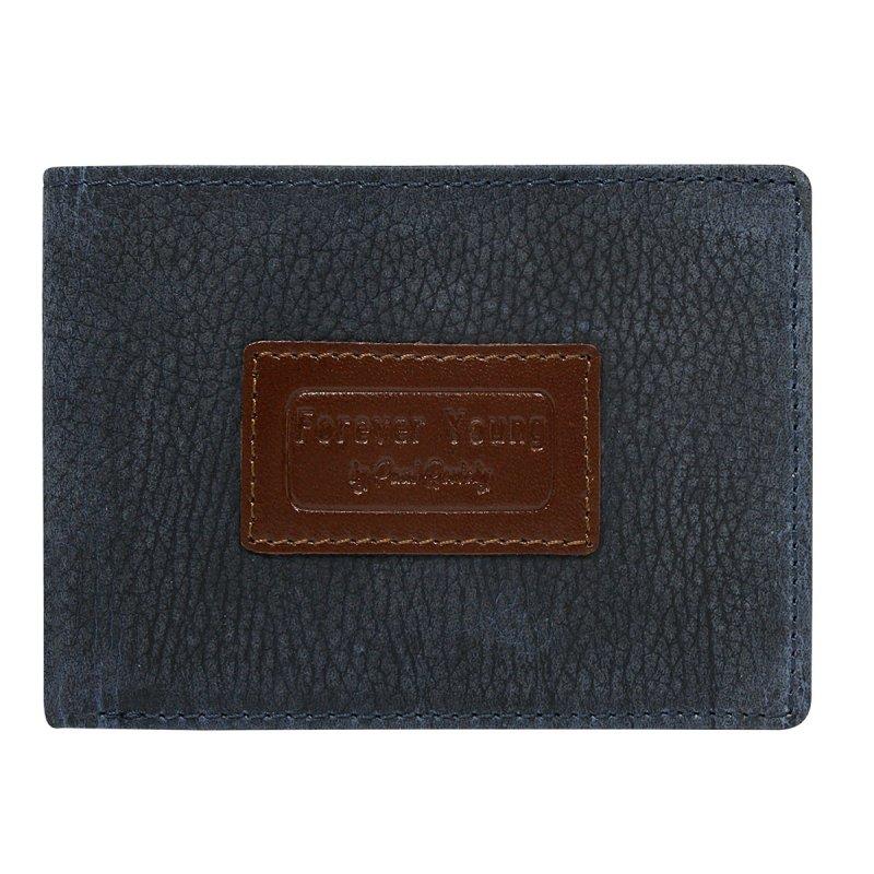Pánská módní prostorná peněženka Kristinán  modrá