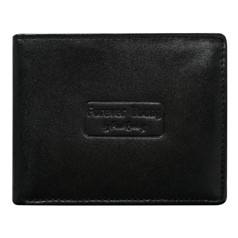 Kožená pánská peněženka Oskar černá