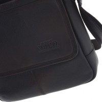 Luxusní pánská kožená taška přes rameno Viktor 6e62b918ab4