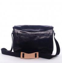 Pánská kožená taška černá Delami bd93e15a942