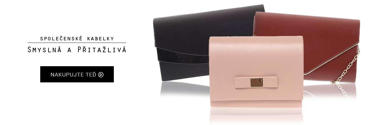 Dámské kabelky přes rameno i do ruky